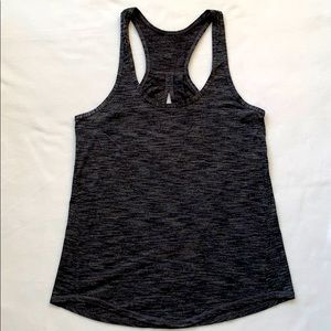 Lululemon Heathered Grey Tank w/ Keyhole in Back